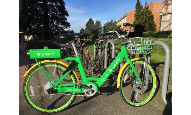Bike commuting accelerated when bike-share systems rolled into town