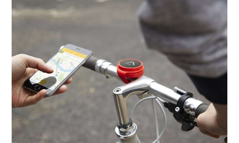 Bike routing app uses space for cyclists