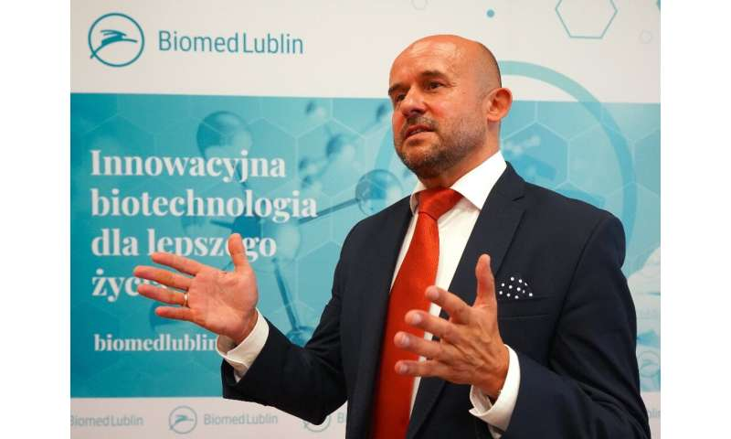 Biomed Lublin's Piotr Fic said the firm was starting production of a plasma-derived drug against COVID-19 today,  August 18, wit