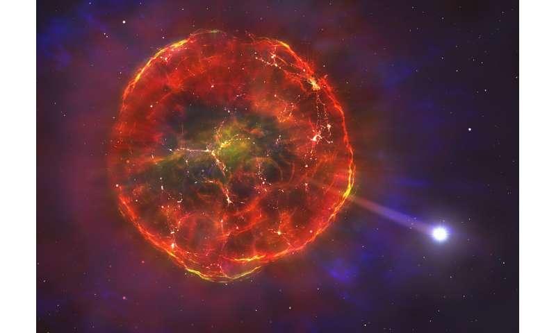 Blast sends star hurtling across the Milky Way Blastsendsst