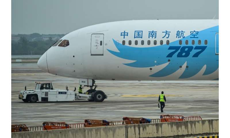 Boeing's deliveries of the 787 Dreamliner will be delayed due a quality problem that has required repairs on eight planes that w