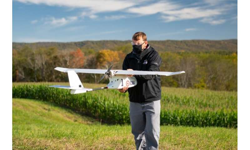 Bracing for busier skies with drone traffic management research