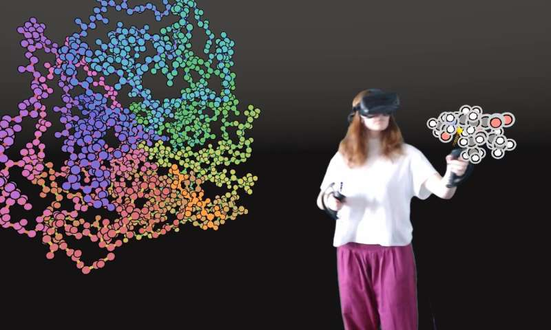 Bristol pioneers use of VR for designing new drugs