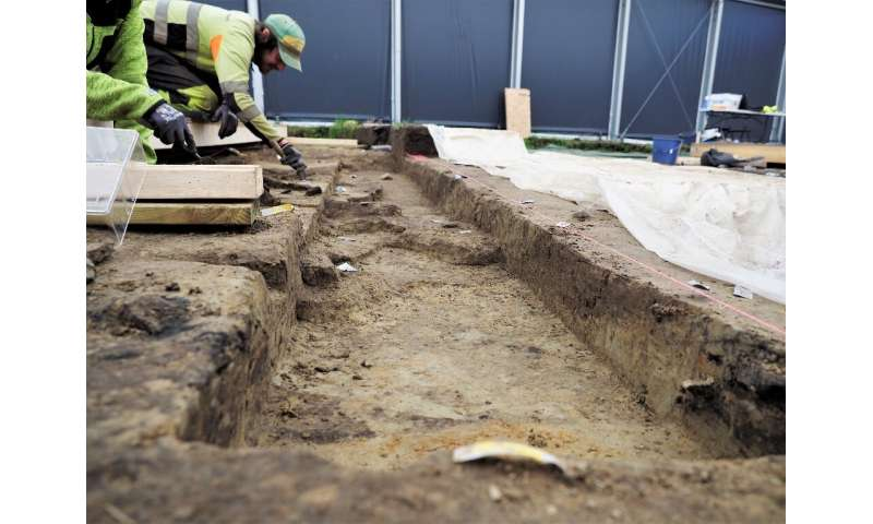 Burial in a Viking ship was reserved for those of high rank or importance