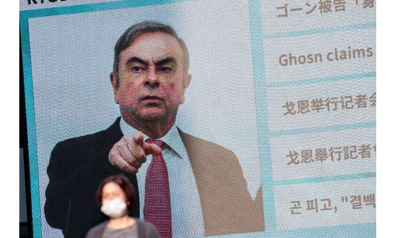 Carlos Ghosn vigorously denies the charges against him