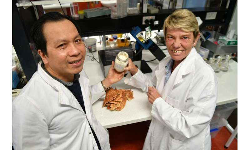Cashing in on marine byproducts