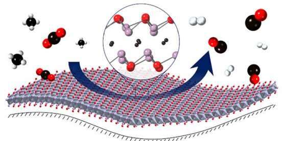 Catalyst for sustainable gas synthesis