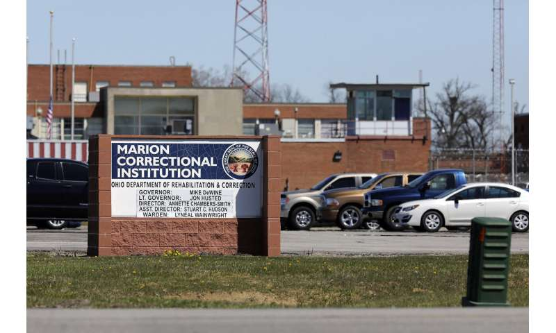 CDC study suggests inmates should have been tested in mass