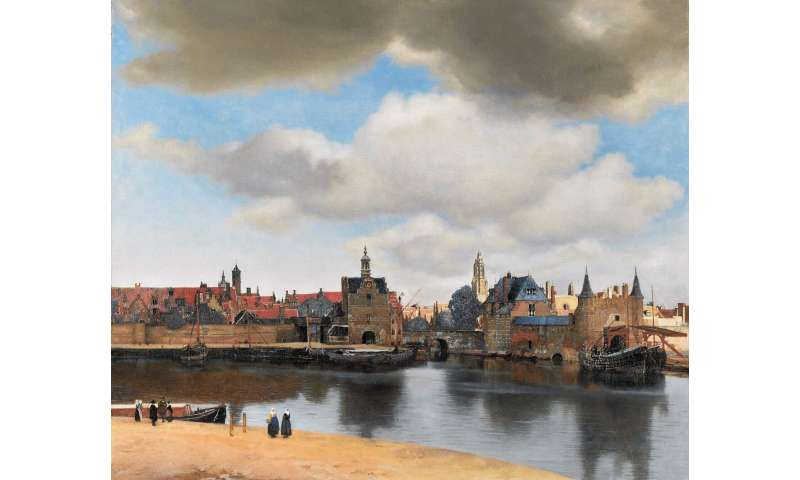 "'Celestial sleuth' sheds new light on vermeer's masterpiece ""View of Delft"""