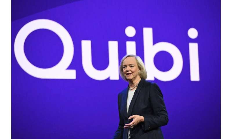 "CEO Meg Whitman says short-form video streaming service for mobile Quibi is launching in ""unprecedented"" times"