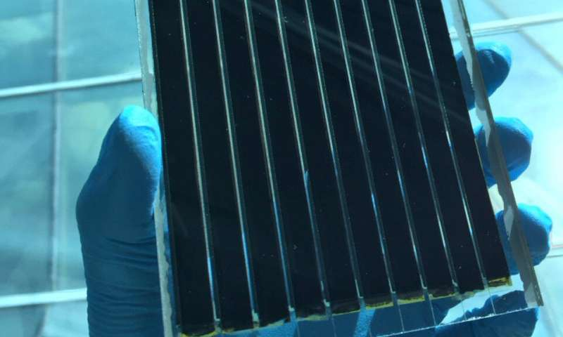 Chemical innovation stabilizes best-performing perovskite formulation