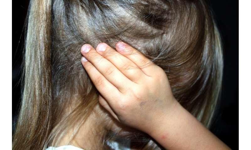 child ear