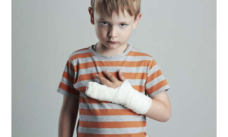 Children's fingertip injuries could signal abuse