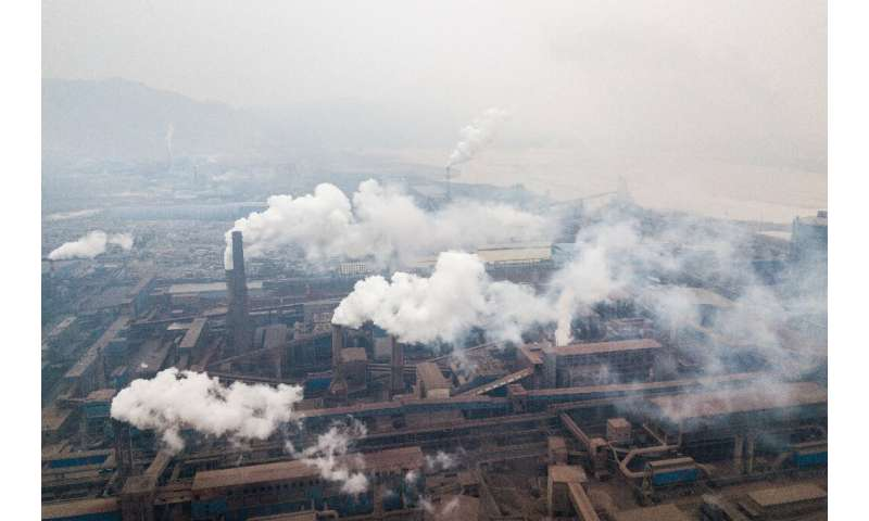 China's air quality gains were mostly achieved through 'end of pipe' measures that filter out pollutants right before they enter