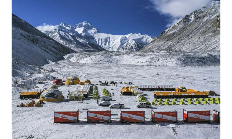 China sends survey team to Everest after season canceled