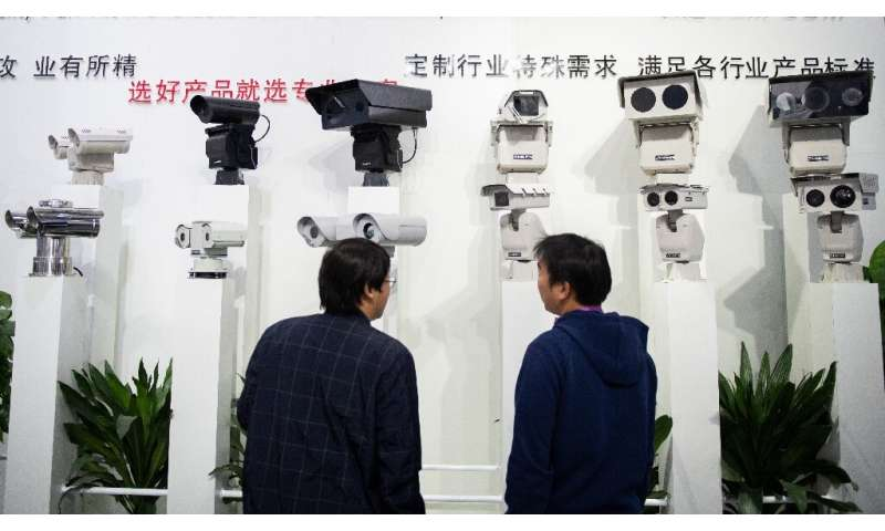 China's government has thrown its support behind companies that develop facial recognition and artificial intelligence for comme
