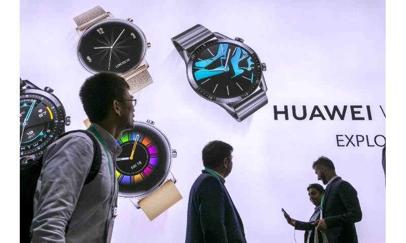 Chinese tech giant Huawei was present at the 2020 Consumer Electronics Show even as it faces sanctions from the US government
