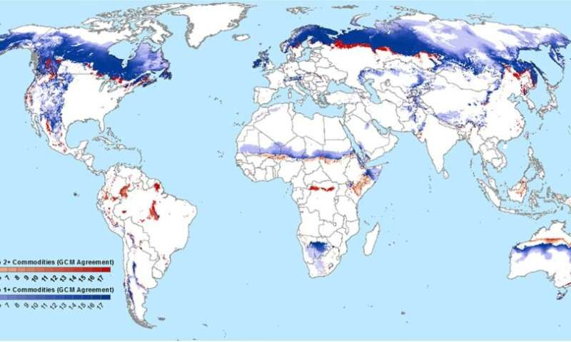 Climate-driven farming 'frontiers' pose major environmental risks