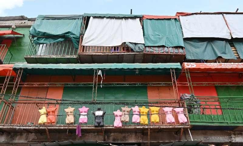 Closed: A market in Abidjan, Ivory Coast's economic hub