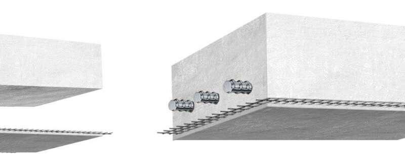 Concrete structure's lifespan extended by a carbon textile
