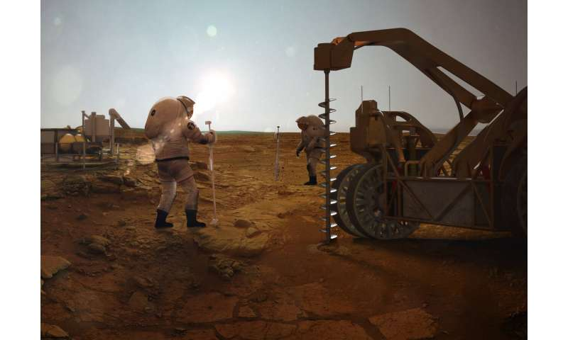 Could life exist deep underground on Mars?
