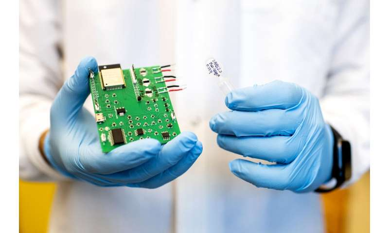 Could this new sensor detect coronavirus particles in the air?