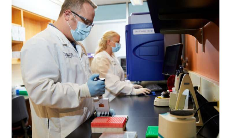 COVID-19 salivatest enables screening on a massive scale