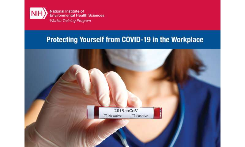 COVID-19 workers get training to protect their own health