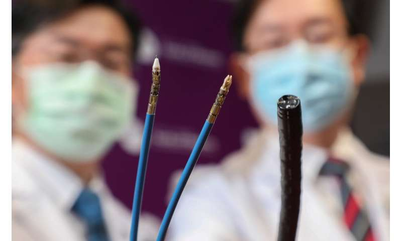 CUHK Successfully Performed World's First Colorectal Endoscopic Submucosal Dissection Using Flexible Endoscopic Robotic System