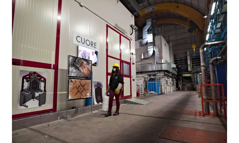 CUORE underground experiment in Italy carries on despite pandemic