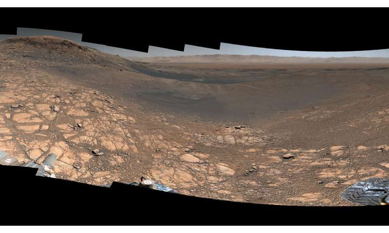 Curiosity Mars rover snaps its highest-resolution panorama yet