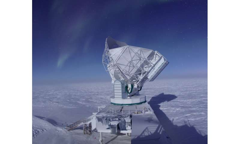 Data from antipodal places: First use of CMB polarization to detect gravitational lensing from galaxy clusters