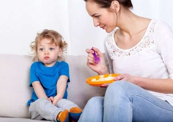 Dealing with fussy eating in children