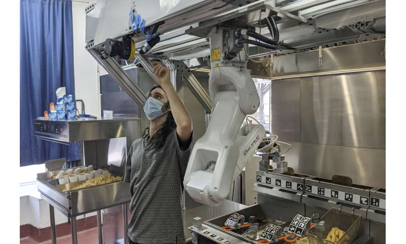 Demand for robot cooks rises as kitchens combat COVID-19