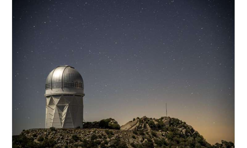 DESI team prepares for telescope instrument's restart after unexpected shutdown