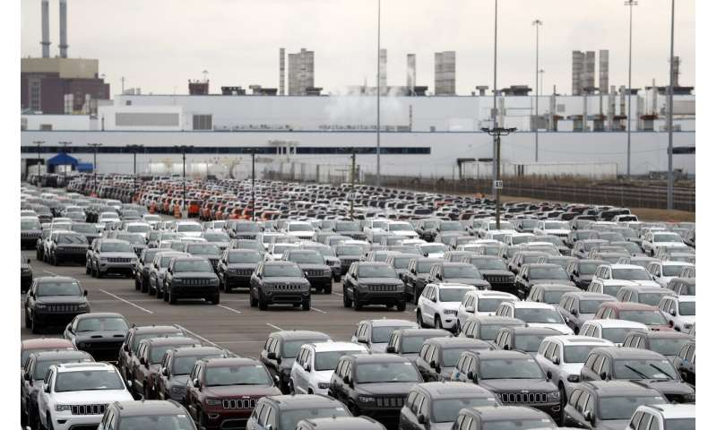 Detroit automakers look to restart N. America plants May 18