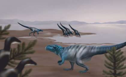 'Dino Cave' reveals dinosaur crouch walkers