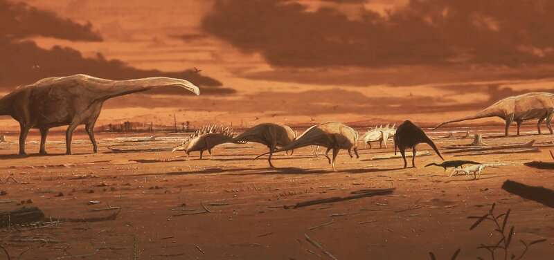Dinosaur stomping ground in Scotland reveals thriving middle Jurassic ecosystem