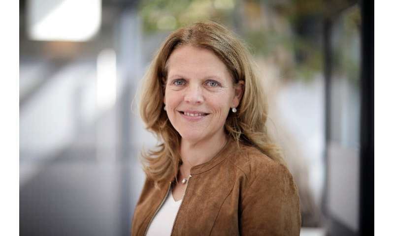 Dutch virologist Hanneke Schuitemaker, global head of viral vaccine discovery at Johnson & Johnson's subsidiary Janssen, ove