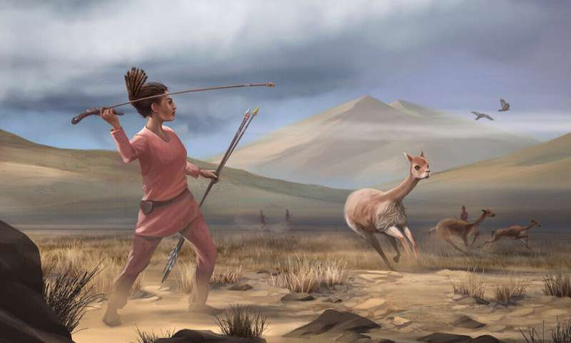 Early big-game hunters of the americas were female, researchers suggest