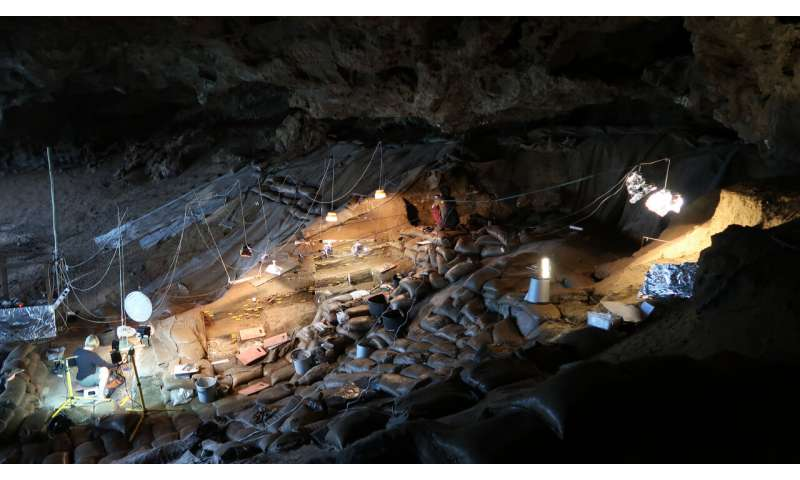 Early modern humans cooked starchy food in South Africa, 170,000 years ago