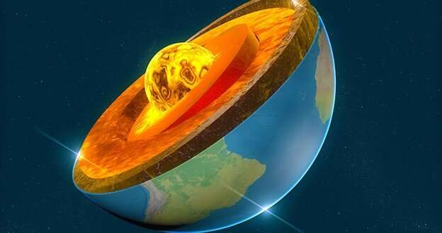 Earth's mantle, not its core, may have generated planet's early magnetic field