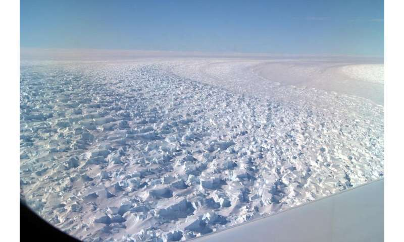East Antarctica's Denman Glacier has retreated almost 3 miles over last 22 years