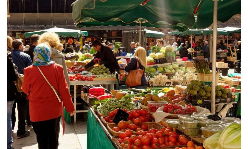Eating local and plant-based diets: how to feed cities sustainably