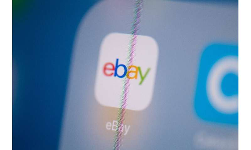 eBay, struggling to keep up with e-commerce giant Amazon, named a former Walmart executive as its CEO on Monday