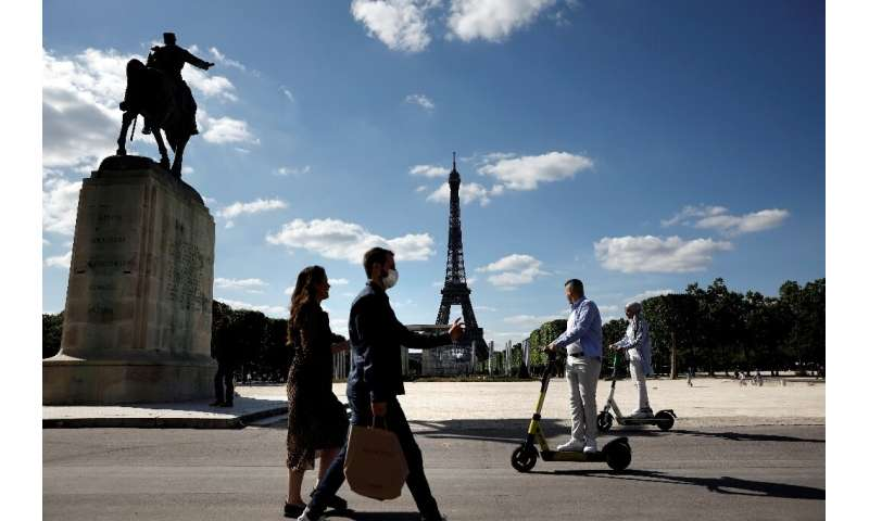 Electric scooters and bikes are becoming a more popular way to get around cities due to fears of crowds and coronavirus infectio