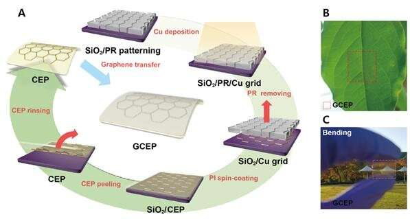 Enhancing the performance of PSCs with 'graphene armor'