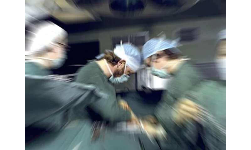 Ergonomic risk factors identified for surgeons