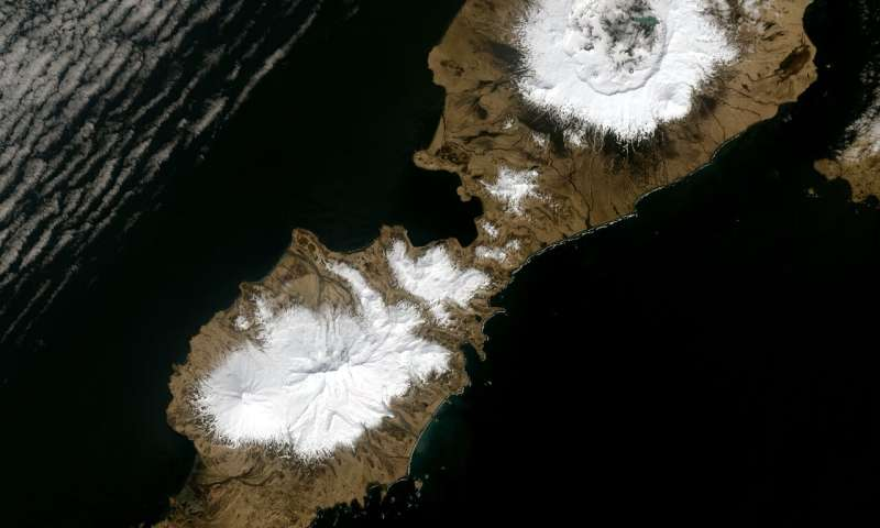 Eruption of Alaska's Okmok volcano linked to period of extreme cold in ancient Rome