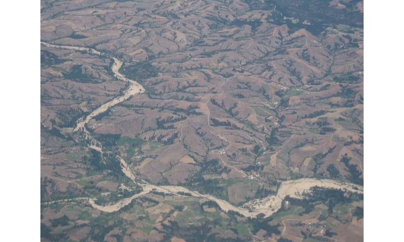 European colonization accelerated erosion tenfold